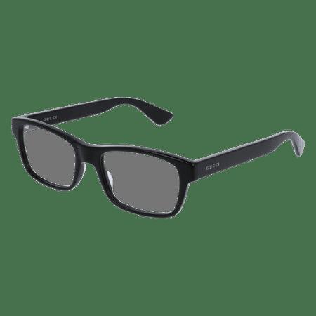 Gucci GG0006O Eyeglass 53mm BLACK (Gucci Brille Frames Für Frauen)