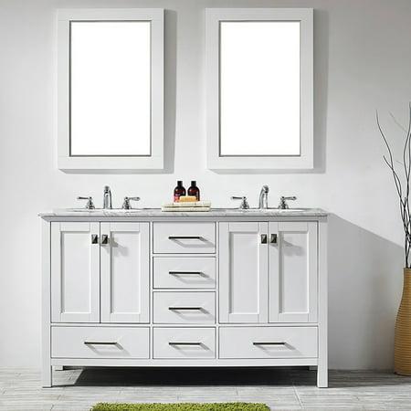 Miseno Mv723060 60 Free Standing Double Vanity Set With Wood