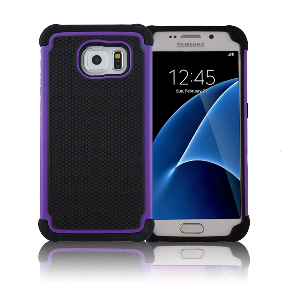 TCD Samsung S7 Executive Armor Hybrid Multi Layer Case Screen Protector