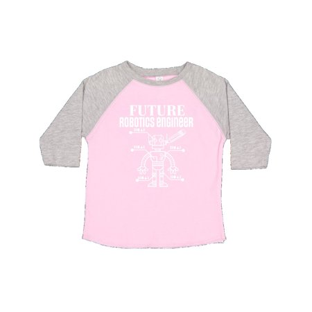 1aed9d83 Inktastic - Future Robotics Engineer Robot Toddler T-Shirt - Walmart.com