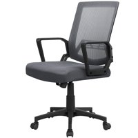 Mid-Back Mesh Office Chair Ergonomic Computer Chair Dark Gray