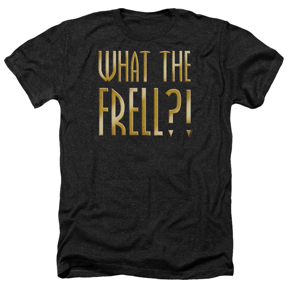 Farscape What The Frell Mens Heather Shirt