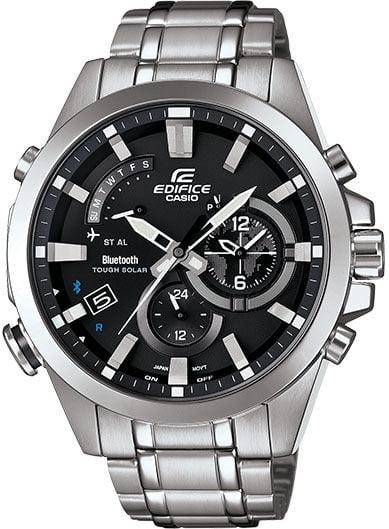 Reloj Inteligente Reloj Solar de Bluetooth resistente de enlace móvil Casio Edifice EQB510D-1A + Casio en VeoyCompro.com.co