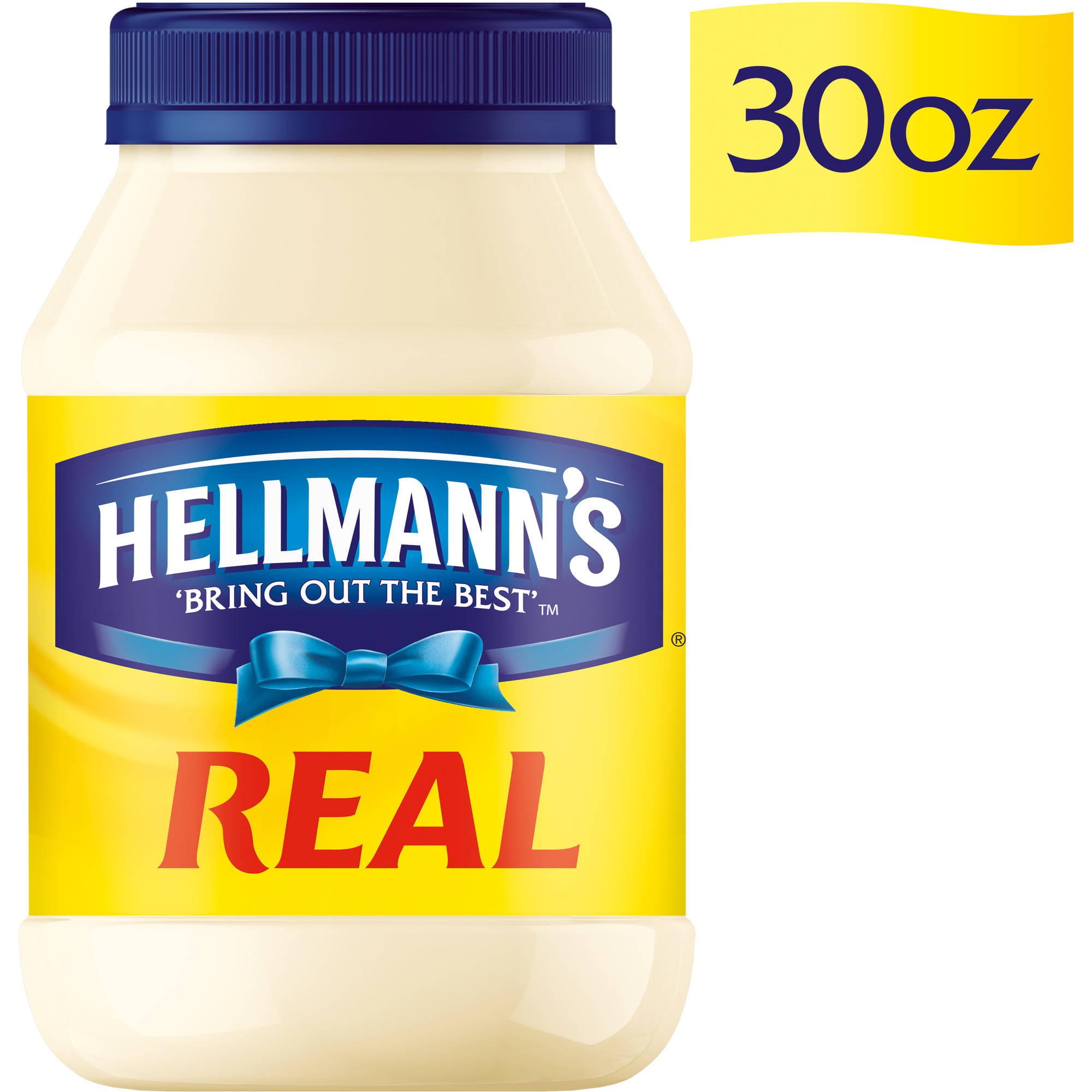 Hellmann's Real Mayonnaise, 30 oz