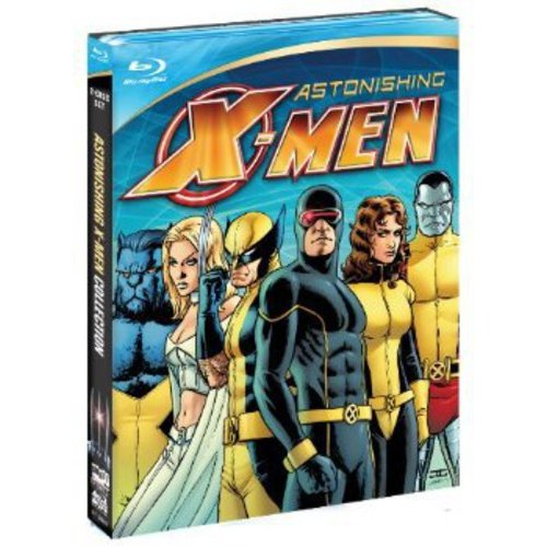 MARVEL KNIGHTS-ASTONISHING X-MEN-UNSTOPPABLE/GIFTED/DANGEROUS/TORN(BLU RAY)