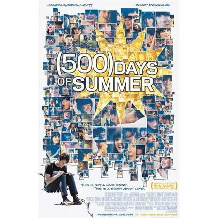 Pop Culture Graphics MOVEJ9729 500 Days of Summer Movie Poster, 11 x 17 - image 1 de 1