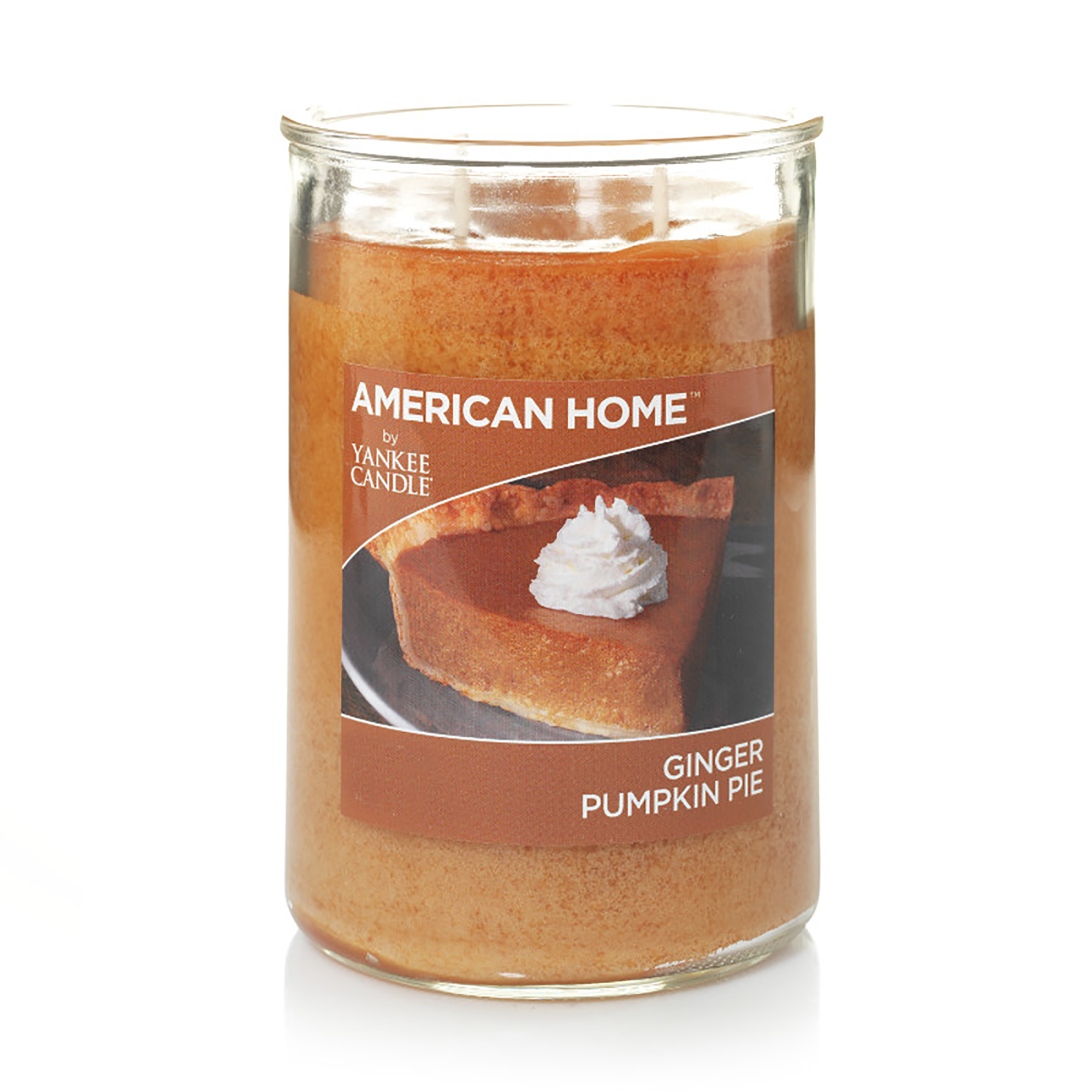 American Home by Yankee Candle Ginger Pumpkin Pie, 19 oz Large 2-Wick Tumbler