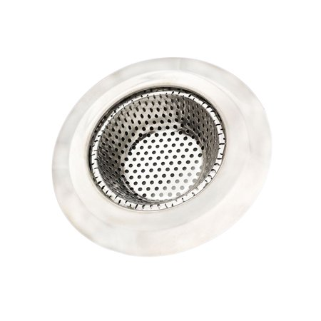Stainless Steel Sink Strainer Filter Water Stopper Floor