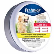 PetArmor Flea and Tick Collar for Large Dogs, 2 ct