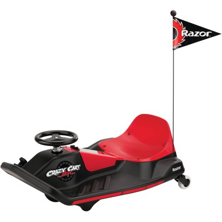 Razor 12 Volt Electric Powered Crazy Cart Shift - For Ages 8 and Up