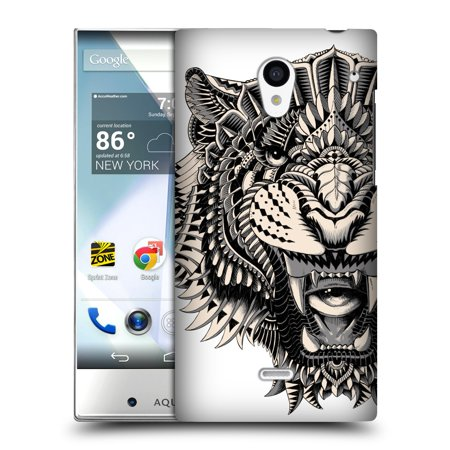 OFFICIAL BIOWORKZ ANIMAL HEAD HARD BACK CASE FOR SHARP PHONES