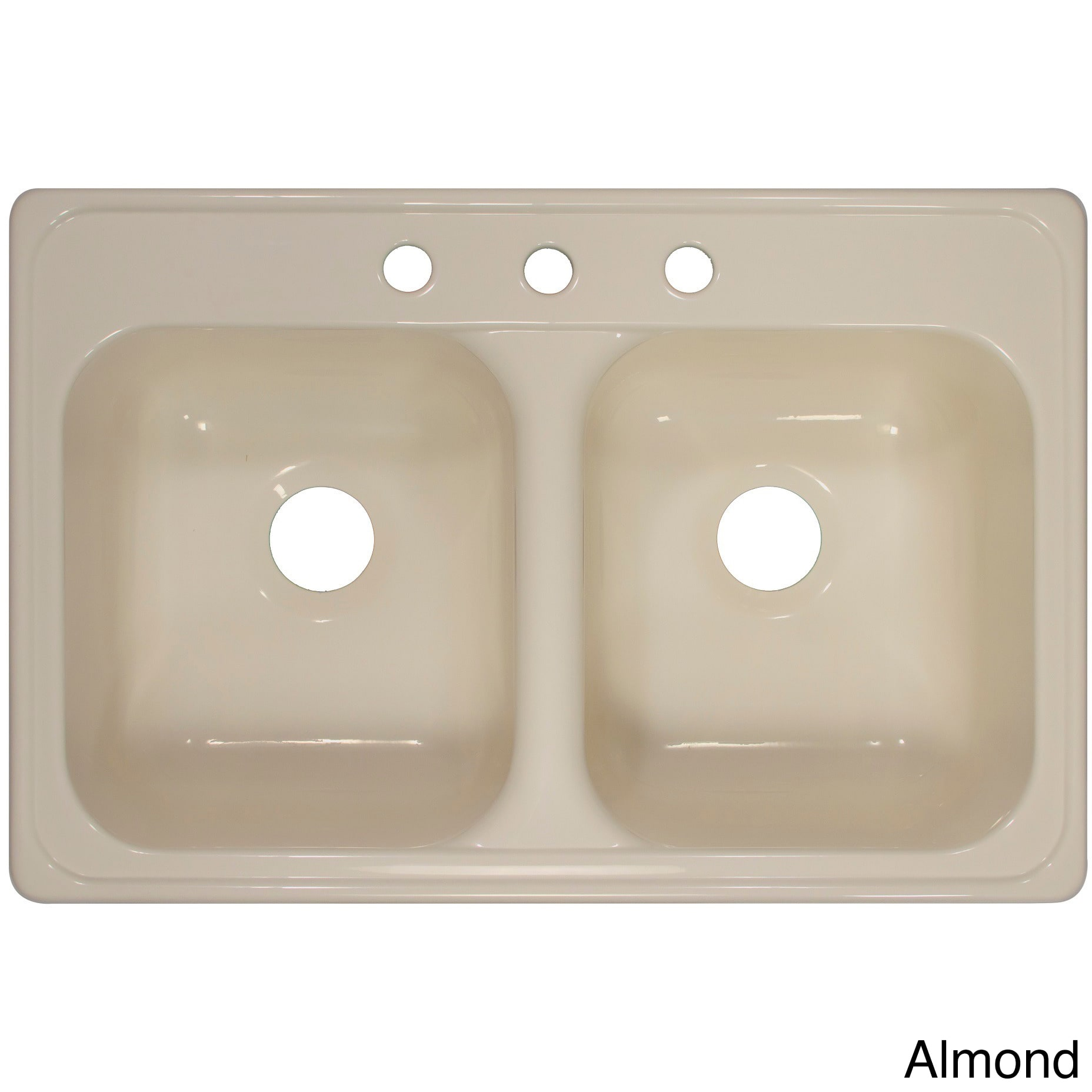 Lyons Industries Lyons Deluxe Chef Select Dual Bowl Low Dam Acrylic Kitchen Sink