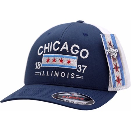 Chicago Flex Fit Hat Trucker Mesh (Flexfit Trucker)