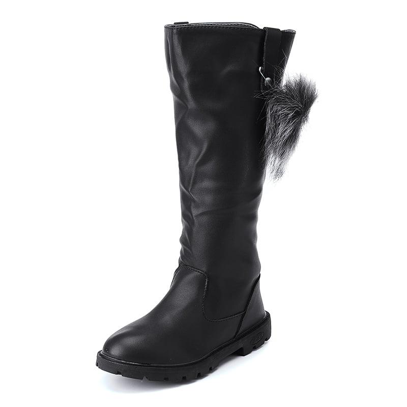 Warm Fur Shoes Snow Boots Children Kids