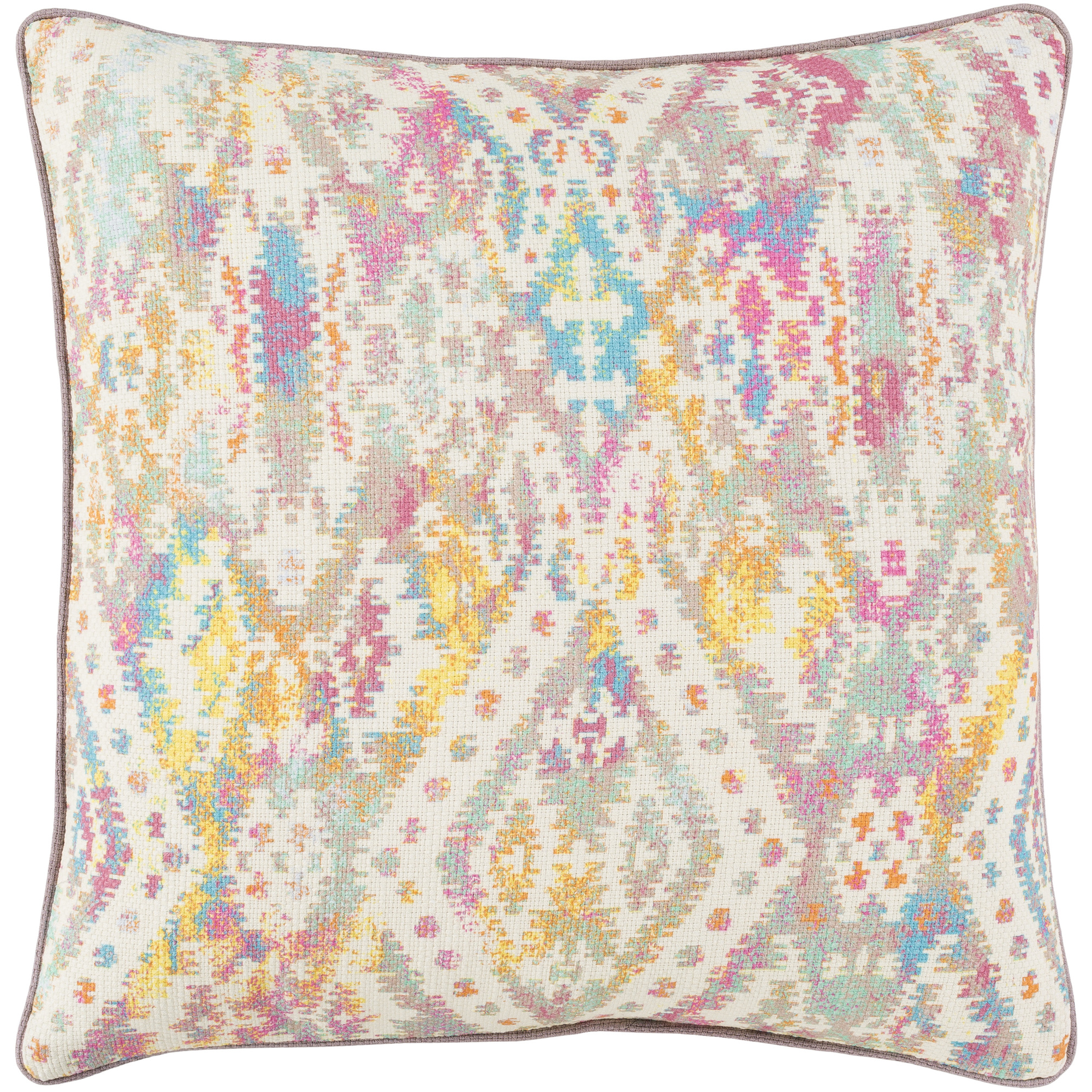 """Art of Knot Brindling 18"""" x 18"""" Pillow (with Down Fill)"""