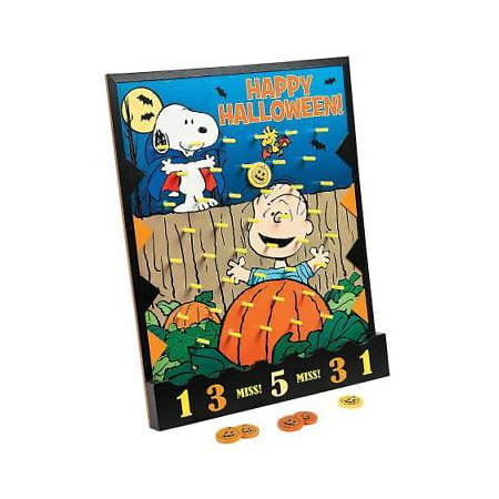 Peanuts Halloween Disc Drop Game By Fun - Gross Halloween Food Games