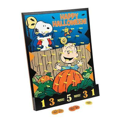 Peanuts Halloween Disc Drop Game By Fun - Marshmallow Halloween Game