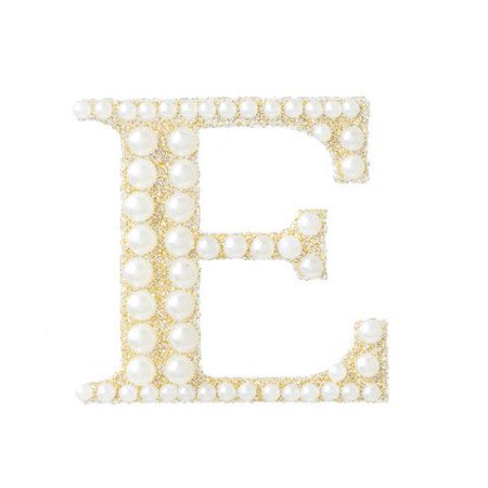 Brighten your project with glitter and pearls with this monogram bling sticker. It is perfect for adding an initial to cards, envelopes, or scrapbooks.