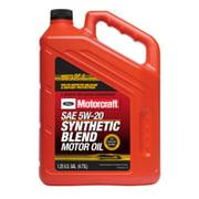Motorcraft 5W-20 Synthetic Blend Motor Oil, 5 Quart