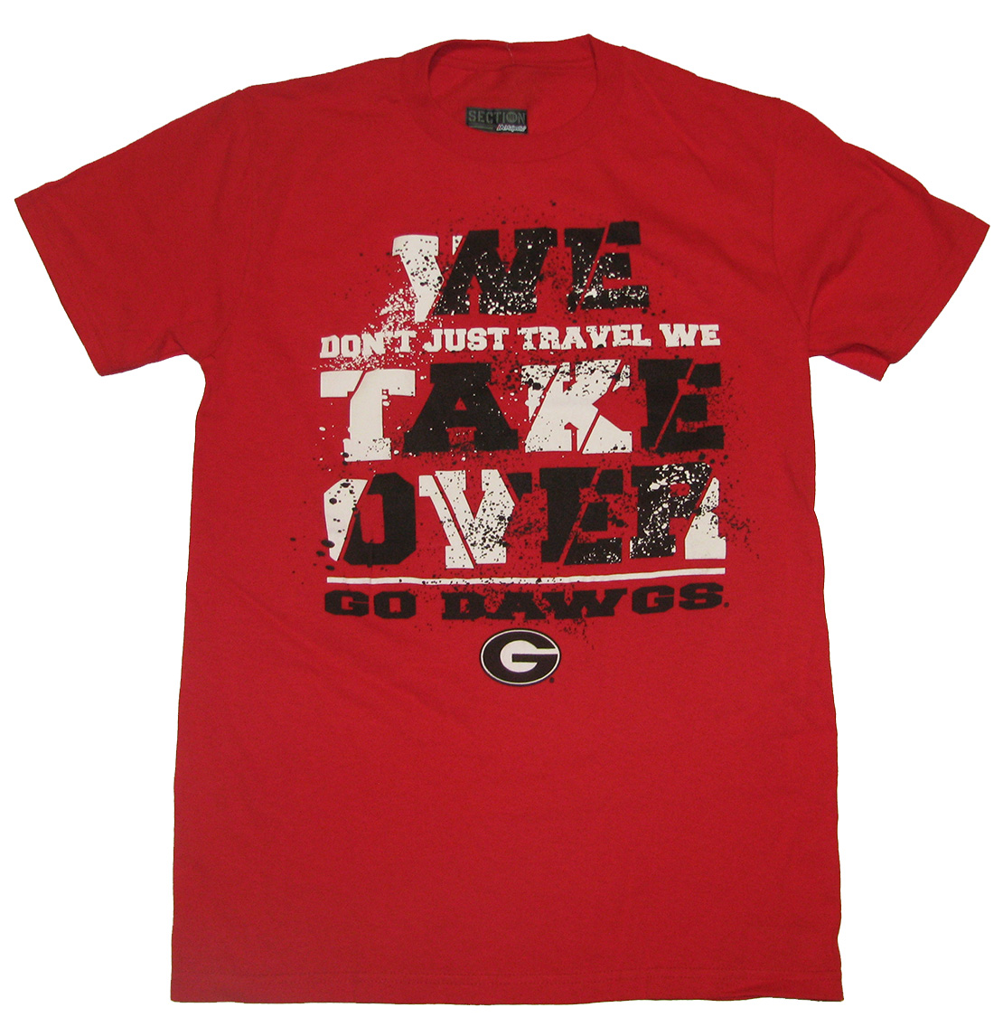 University Of Georgia Bulldogs We Take Over T-shirt