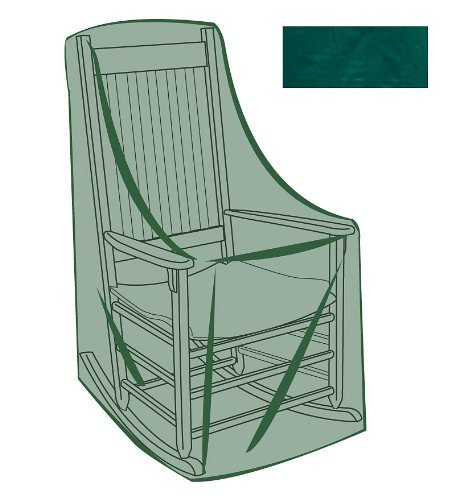 Rocking Chair Outdoor Furniture Cover In Green 26 3 4 L