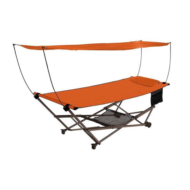 Bliss Hammocks Q-806TCr Stow EZ Hammock & Collapsible Stand with Pillow  Terra Cotta