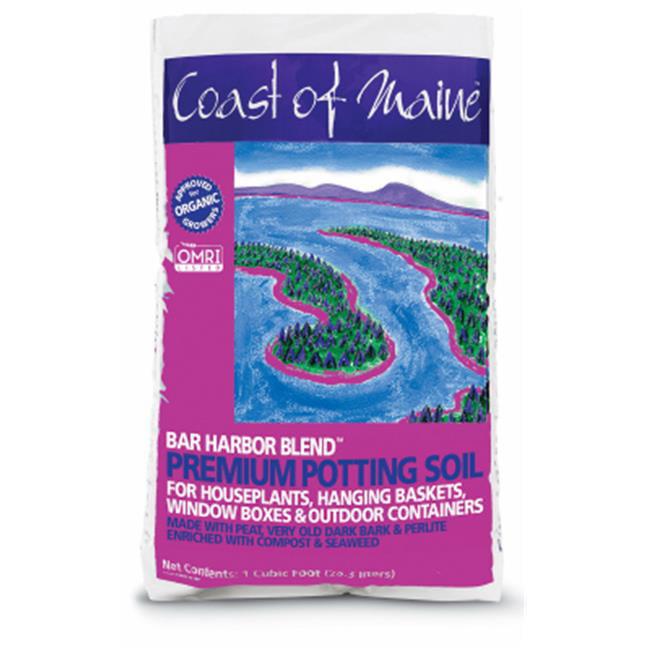 Coast Of Maine-Bar Harbor Blend Premium Potting Soil 1 Cubic Foot