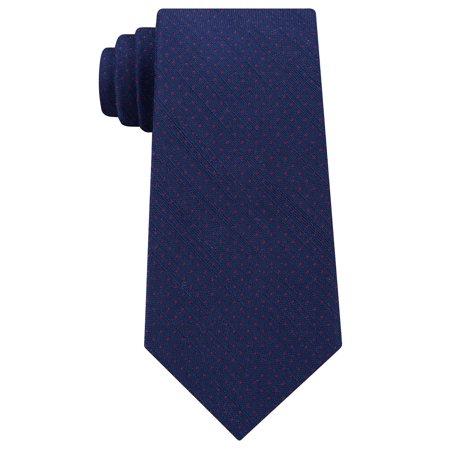 Michael Kors Men's Pin Dot Melange Silk Tie Burgundy
