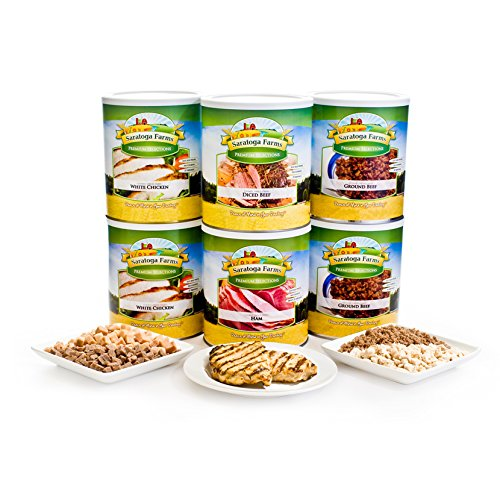 Freeze Dried Premium Meats ReadyPack by Saratoga Farms
