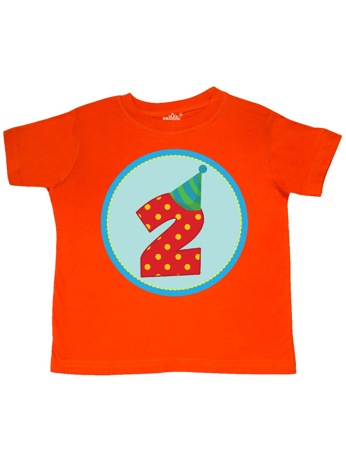 2nd Birthday Boy Toddler T-Shirt