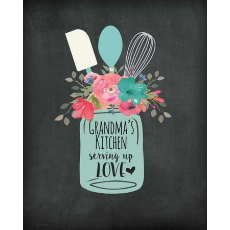Grandmas Kitchen Poster Print by Jo