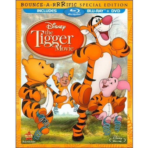 The Tigger Movie: Bounce-A-Rrrific Special Edition (Blu-ray + DVD + Family Tree Activity Poster) (Widescreen)