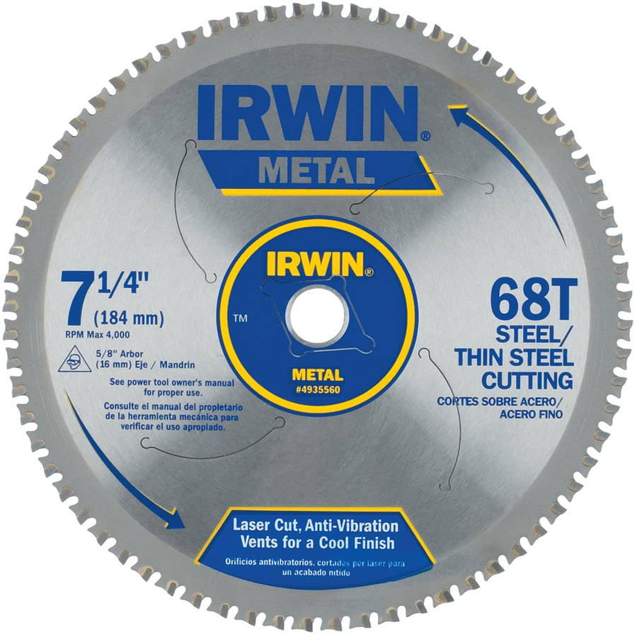 """Irwin 4935560 7-1/4"""" 68 TPI Metal Cutting Blade"""