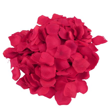 Sale Prices Lightweight Table Flowers Artificial Rose Petals 4000 Pcs Silk Rose Petals Christmas Wedding Party Decorations