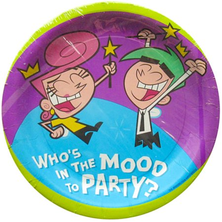 Fairly OddParents Large Paper Plates (8ct)](The Fairly Oddparents Halloween Short)