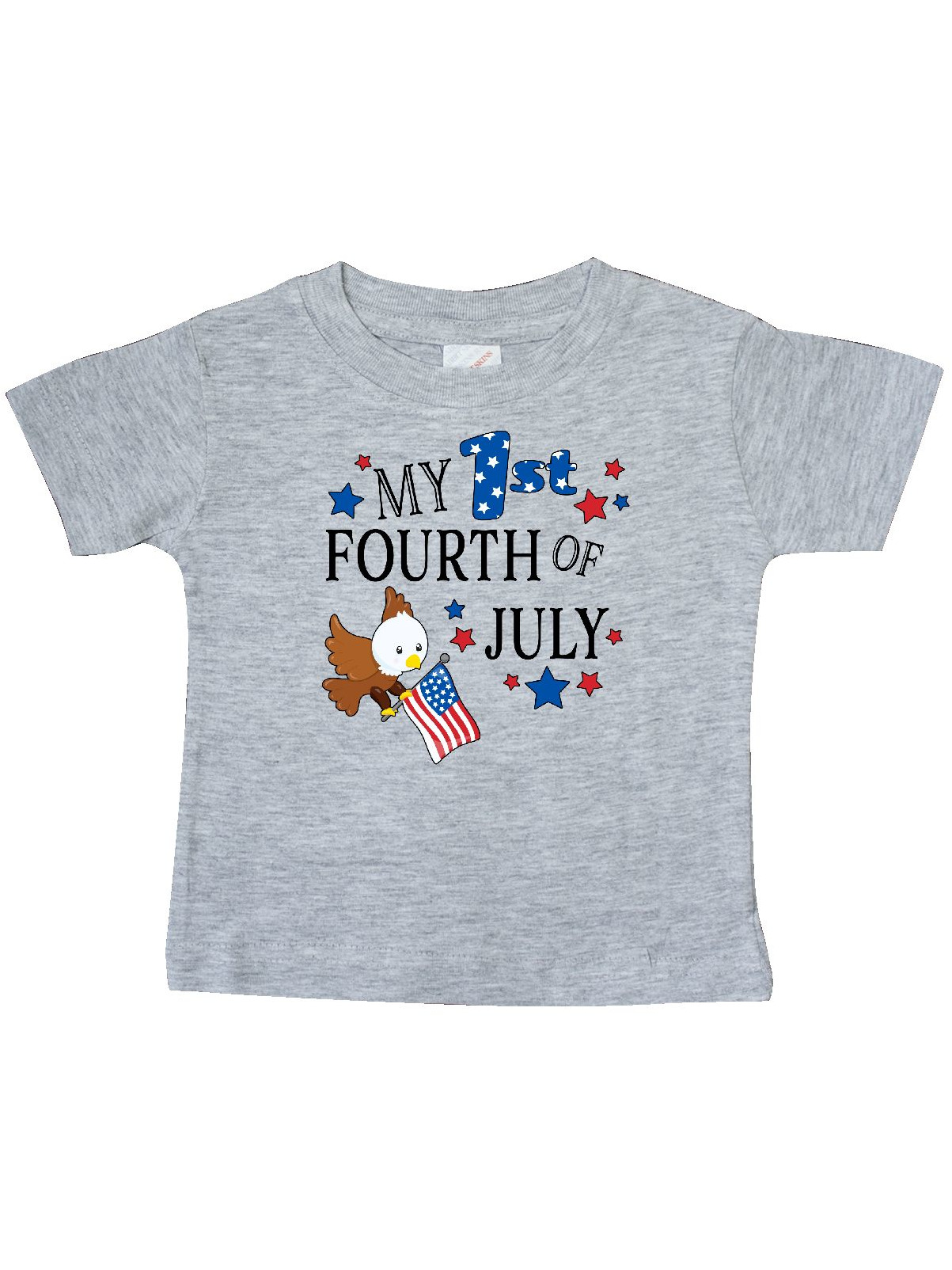 My First Fourth of July- eagle Baby T-Shirt - Walmart.com f5c543454