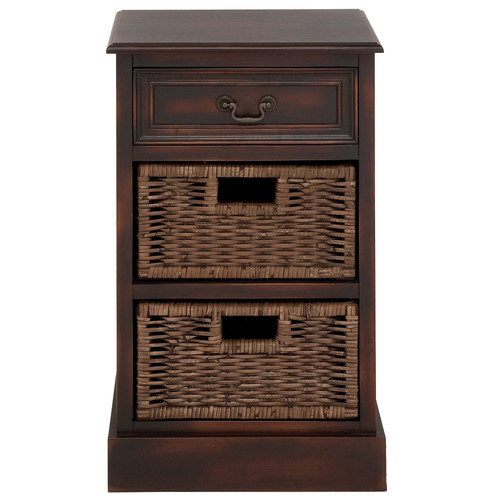 EC World Imports Urban Designs 3 Drawer Nightstand by ecWorld