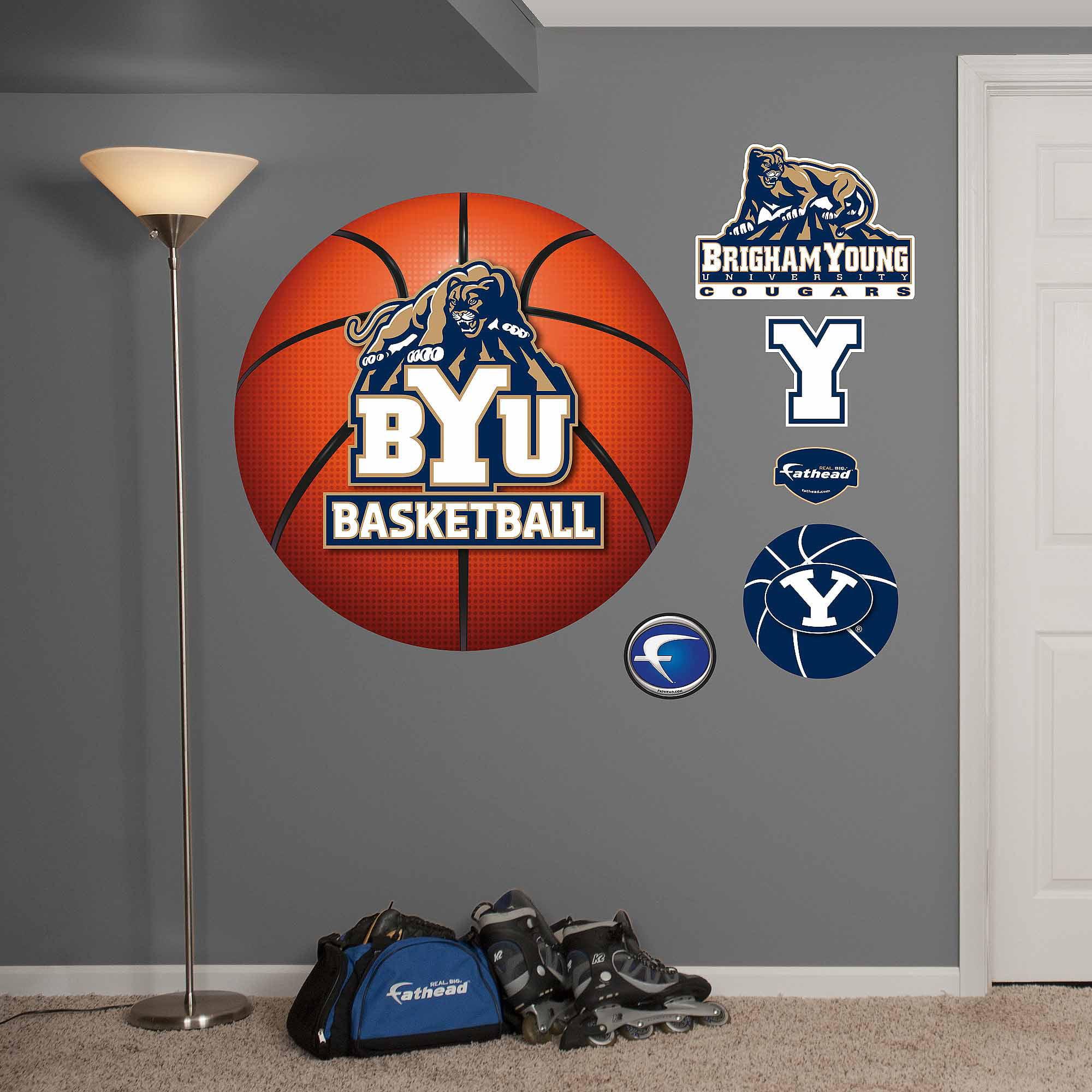 NCAA Basketball Logo Wall Decal