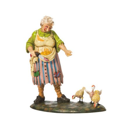 Department 56 Snow Village Halloween Deranged Chickens Accessory Figurine