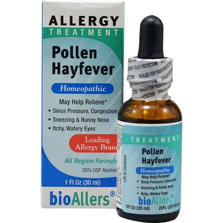 Pollen Treatment (bioAllers Allergy Treatment Pollen Hayfever, 1 Fl Oz)