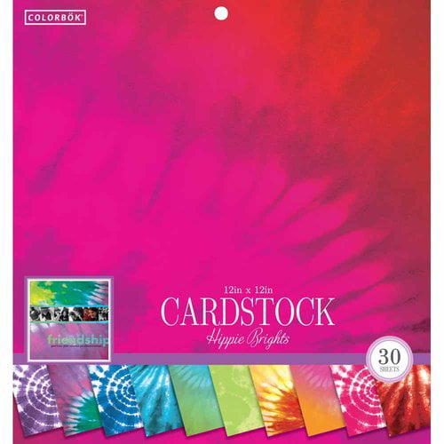 Colorbok 12 Crdstk Tie Dyed