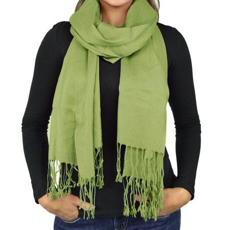 Belle Donne - Women's Fabulous Soft and Warm Scarf Shawl Wrap - Lime