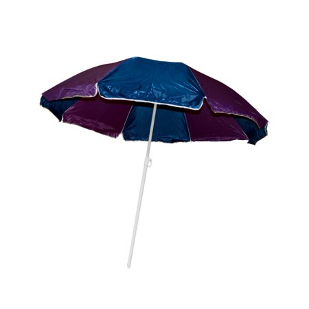 Large Beach Umbrella With Two Part Pole Pack Of 1
