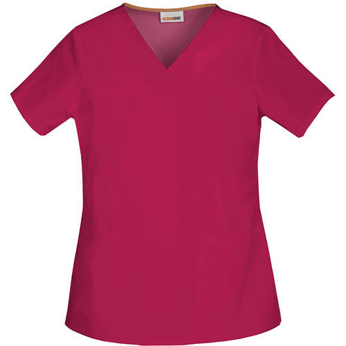 SCRUBSTAR Women's Core Essentials V-Neck Scrub Top