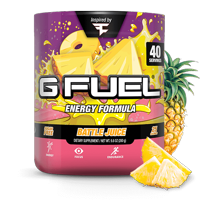 G Fuel Elite Energy and Endurance Powder Tub, FaZe Battle Juice, 40 Servings, Inspired by Faze Clan