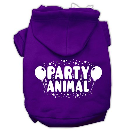 Party Animal Screen Print Pet Hoodies Purple Size XL (16) A poly/cotton sleeved hoodie for cold weather days, double stitched in all the right places for comfort and durability!Product Summary : New Pet Products/Screen Print Hoodies/Party Animal Screen Print Pet Hoodies@Pet Apparel/Dog Hoodies/Screen Print Hoodies/Party Animal Screen Print Pet Hoodies@Pet Apparel/Dog Hoodies/Screen Print Hoodies COPY/Party Animal Screen Print Pet Hoodies