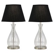 Aspire Home Accents Kate Glass Table Lamp (Set of 2)