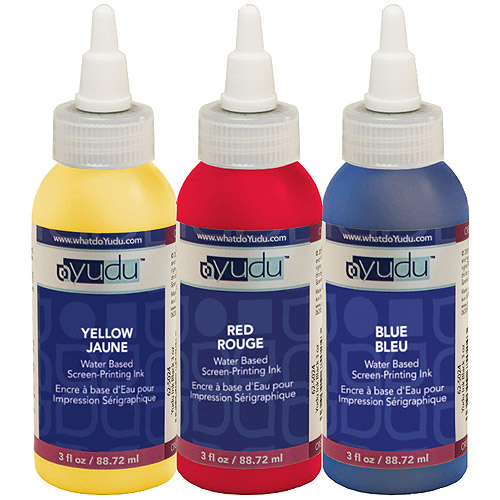 Yudu Ink, Primary Color 3-Pack