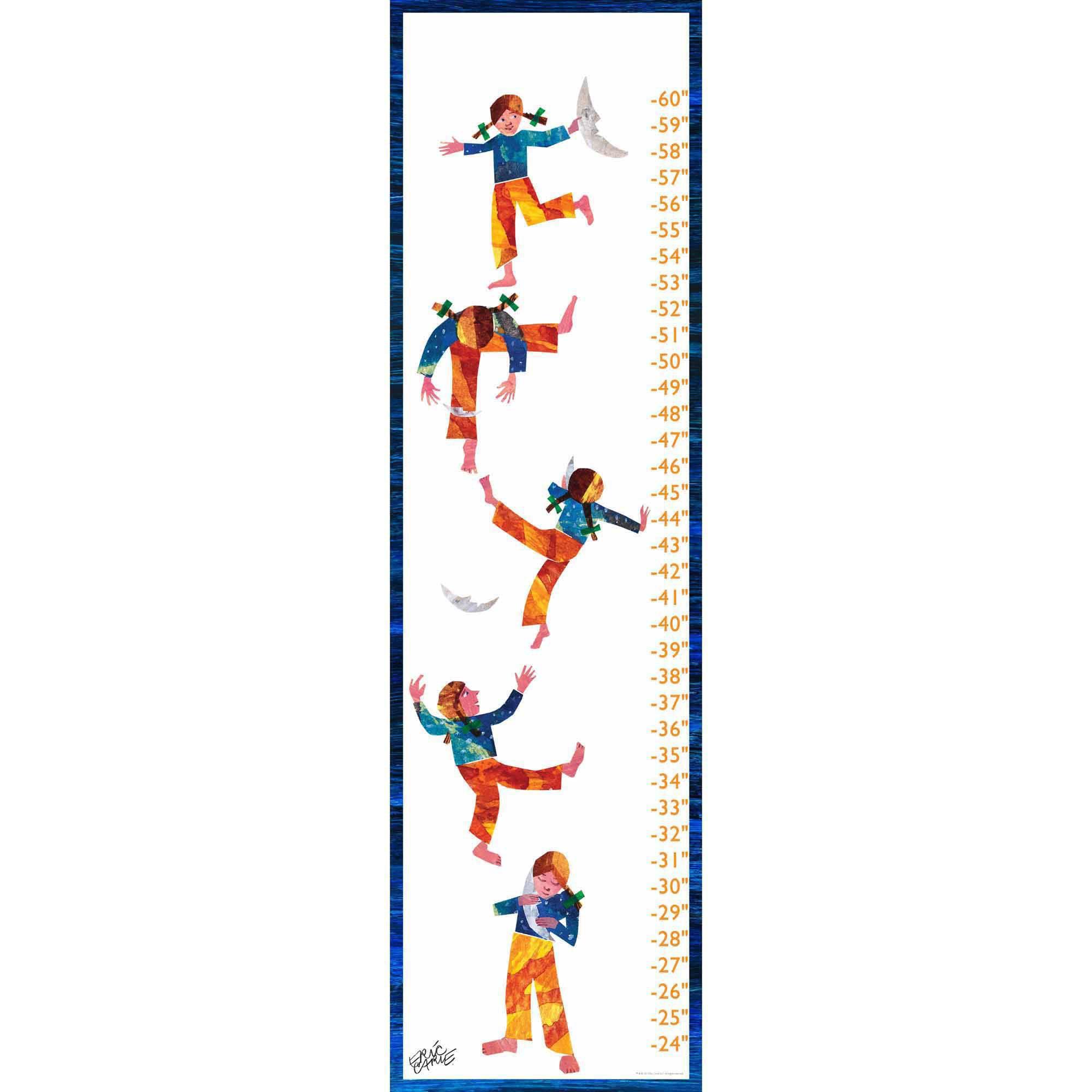 Eric Carle Sleepyhead Canvas Growth Chart