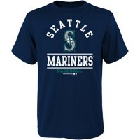 Youth Navy Seattle Mariners Arch T-Shirt